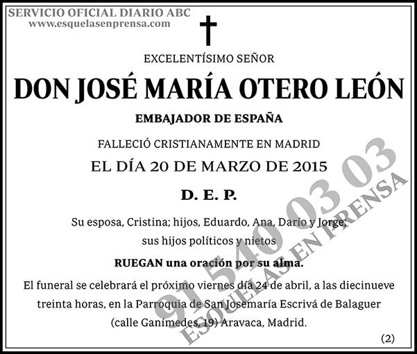 José María Otero León